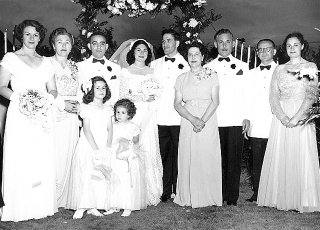 Kriss-Tarlow wedding 1948